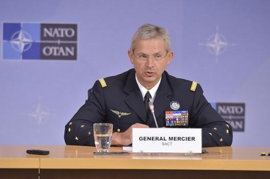 General Denis Mercier, Supreme Allied Commander Transformation, May 18, 2016 (photo: NATO)
