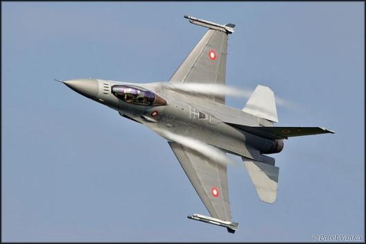 Danish fighter jet, Sept. 20, 2014