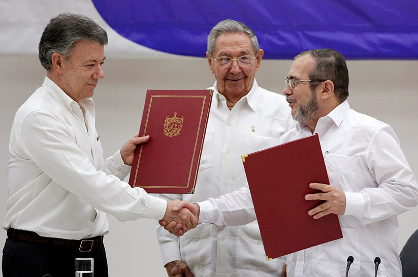 Colombia: On the Brink of Peace