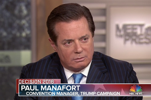 Paul Manafort's Ukrainian Legacy