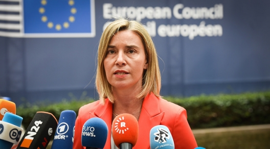EU High Representative/Vice-President Federica Mogherini, June 28, 2016