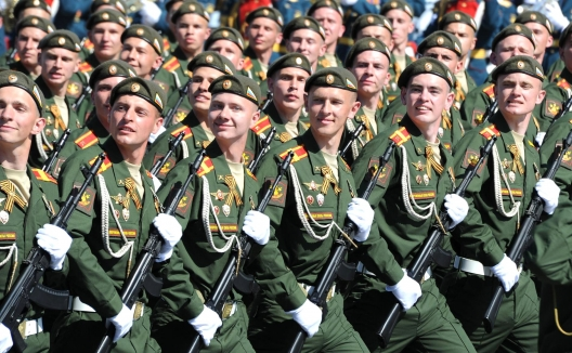 Military parade in Moscow, May 9, 2016