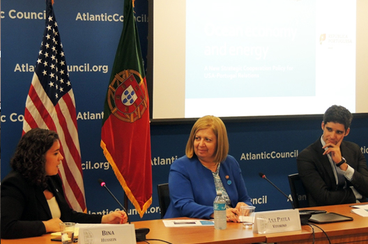 Ocean Economy and Energy: Opportunities of Cooperation Between Portugal and the US – A Conversation with the Portuguese Minister of Sea, Ana Paula Vitorino