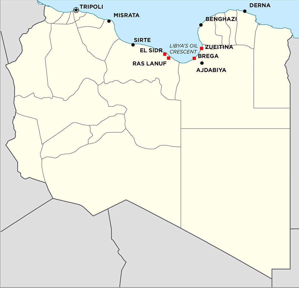 Libya-Oil fields