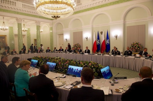 Dinner for Heads of State at NATO Warsaw Summit, July 6, 2016