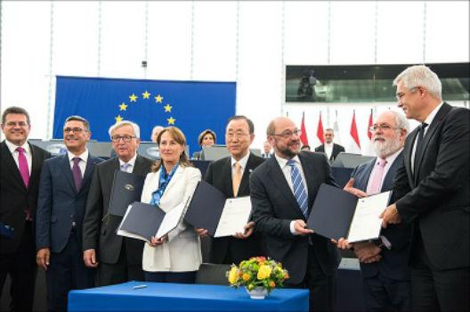 EU Source:  EU fast-tracks climate deal