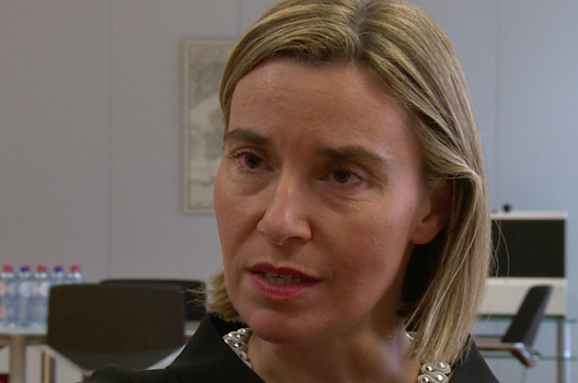 'Channeling Brussels' with Federica Mogherini