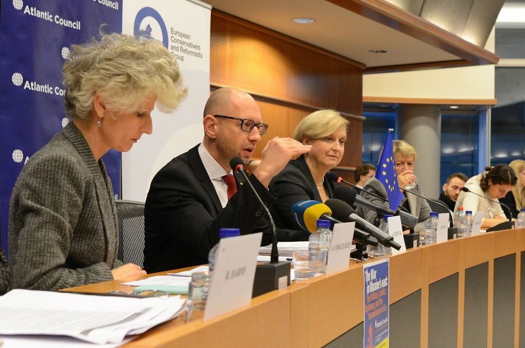 Yatsenyuk at the European Parliament: It's Time for Europe to Do Its Part