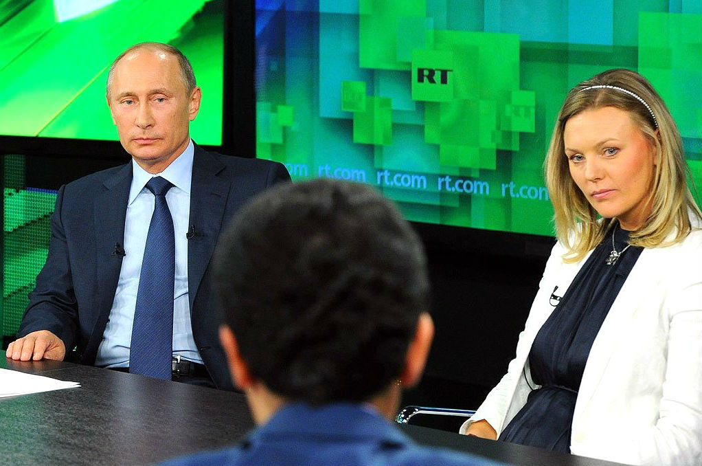 US Should Require Russia's RT to Register as Foreign Agent