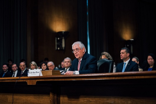 The Tillerson Hearing: What Was Said about the Middle East