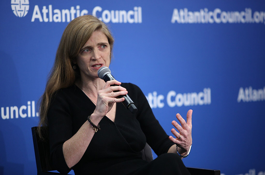 Samantha Power Outlines Russian Threat to the United States, Rules-Based Order