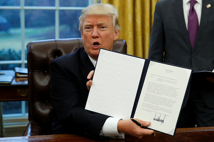 The United States Quits TPP: A Gift for China