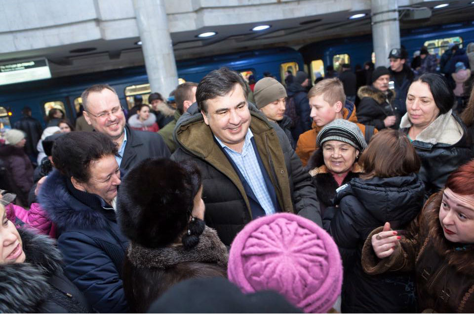 The End of the Rose for Saakashvili