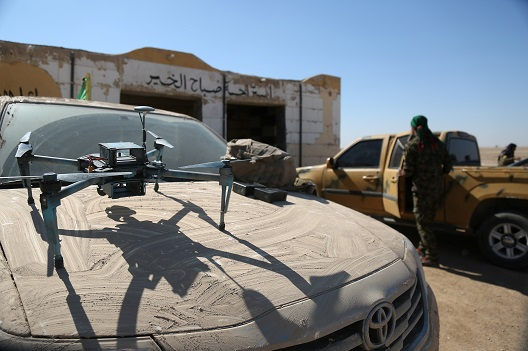 Unintended Consequences of Safe Zones in Fighting the Islamic State