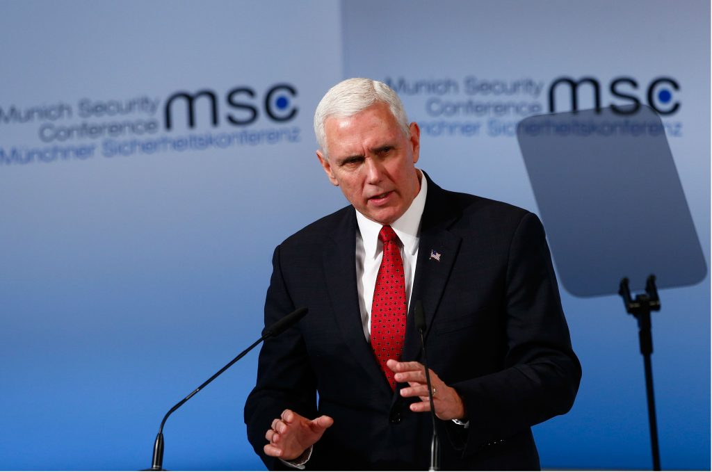 What Pence Should Have Said: Russia, Not Terrorism, Is the Most Urgent Security Threat