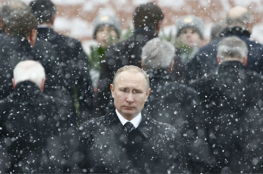 Putin Is a Prisoner of His Own Hybrid War