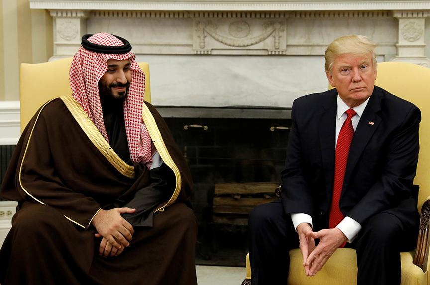 A Saudi Royal Visits Trump