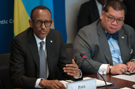 Roundtable with H.E. Paul Kagame
