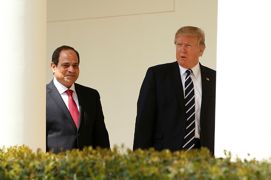 Arab Leaders Try to Get Trump's Attention