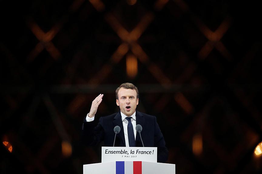 Macron's Victory is Welcome News for Saudi Arabia and Qatar
