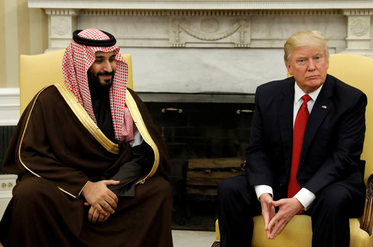 Arab Gulf States Set to Woo Trump