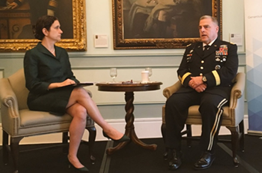 Commanders Series Event with Chief of Staff of the Army General Mark Milley