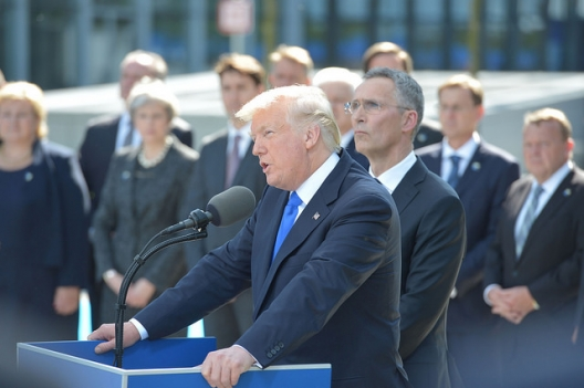 The 27 Words Trump Wouldn't Say To NATO