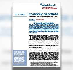 Economic Sanctions: Sharpening a vital foreign policy tool