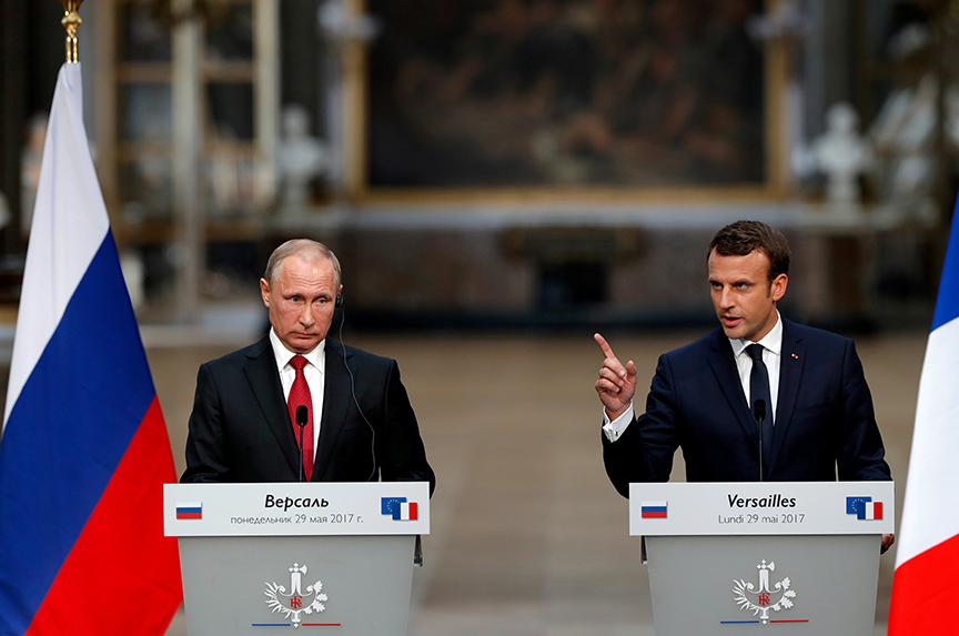 Macron's Russia Reset