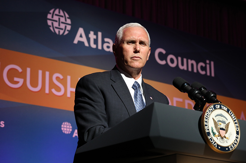 Pence Affirms US Commitment  to NATO, Collective Defense