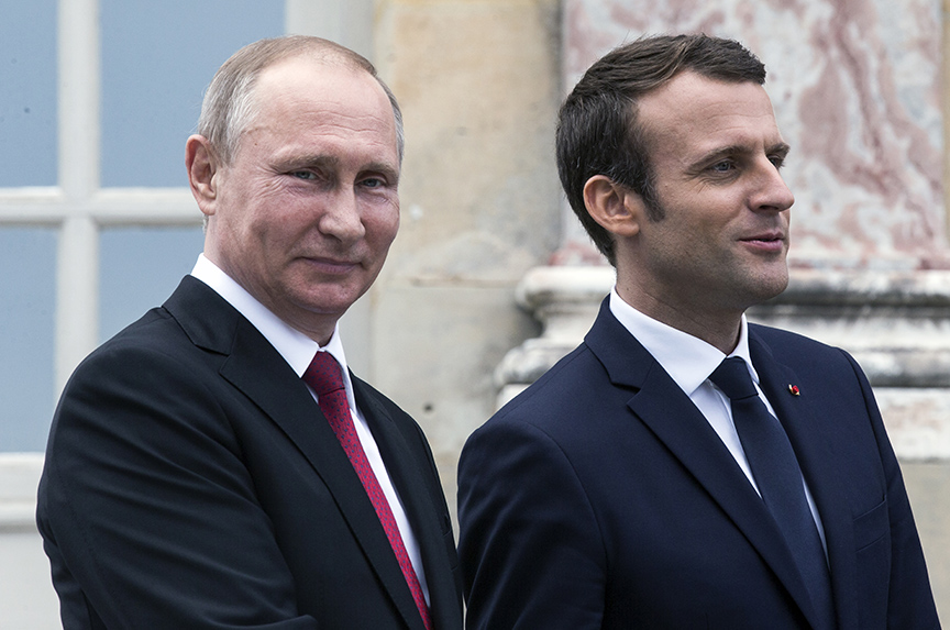 Macron's Putin Policy: 'Firmness Without Provocation'