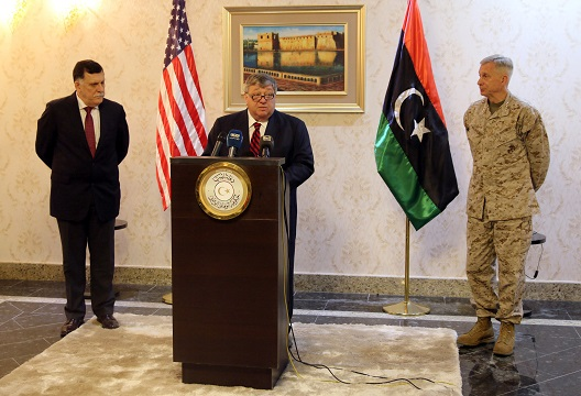 A Larger US Role in Libya?