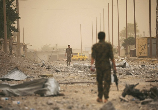 The Syrian Elite Forces and the Battle for Raqqa