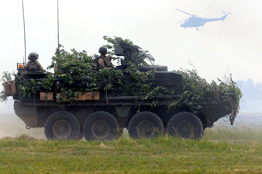 NATO Enhances its Eastern Front