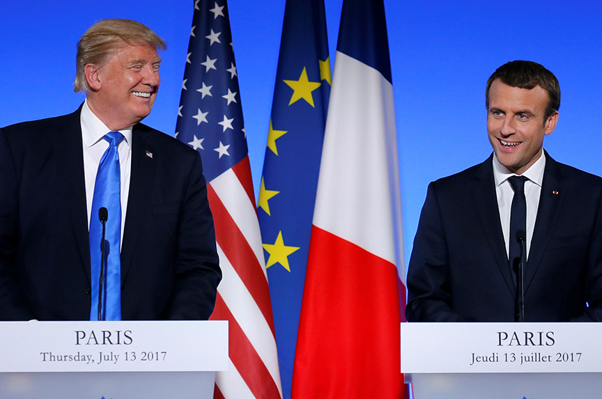 Macron And Merkel Come to Washington. Lend Them Your Ear
