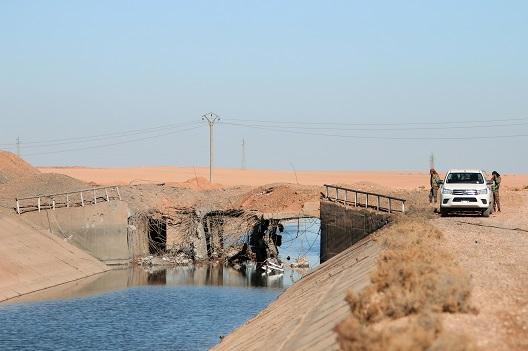 Raqqa's Water War