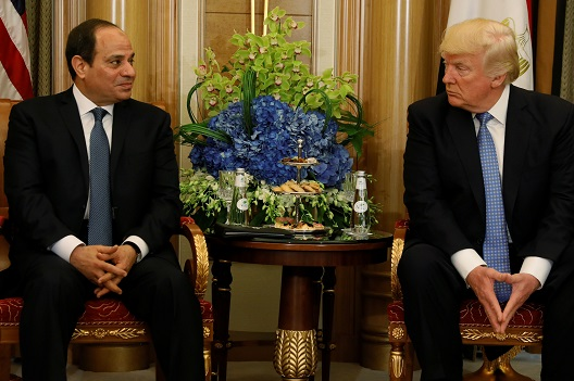 Erratic Consistency—Trump's Uncertain Egypt Strategy