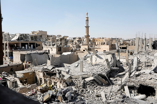 The Awkward Space for Syria's Post-Conflict Reconstruction