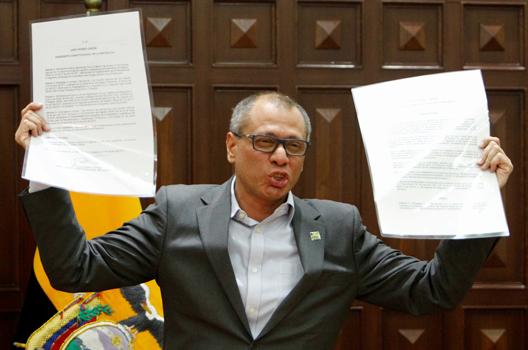 Ecuador's Ruling Party Headed for a Split
