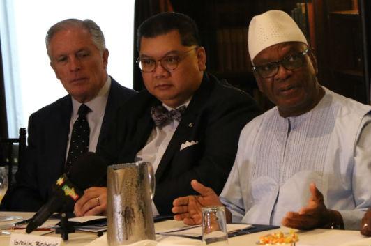 Roundtable with H.E. Ibrahim Boubacar Keïta