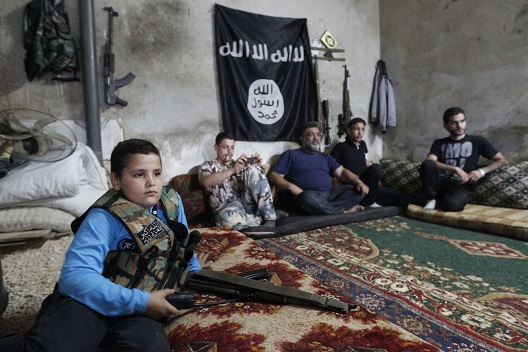Rehabilitating ISIS' Child Soldiers
