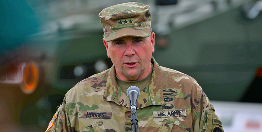 How US Army Europe's Outgoing General Got the Pentagon's Attention