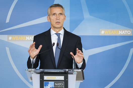 NATO Chief says Allies Concerned about Russian Phone Jamming