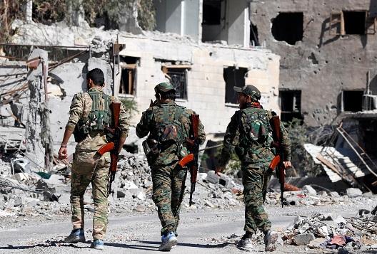 The Deadly Frontline of Deir Ezzor