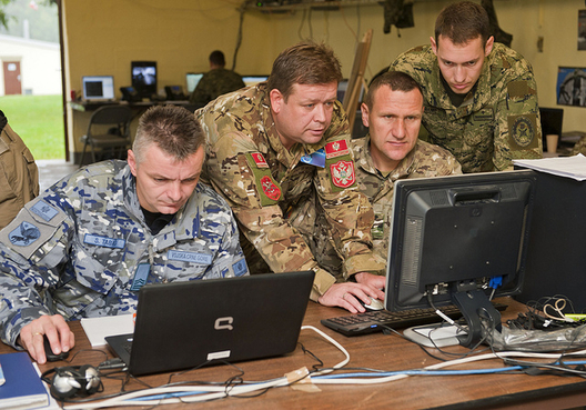 A EUCOM Joint Multinational Training Exercise, Sept. 18, 2013