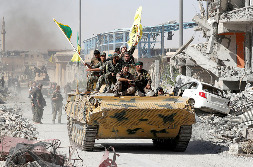 Raqqa Falls. Now Comes the Hard Part