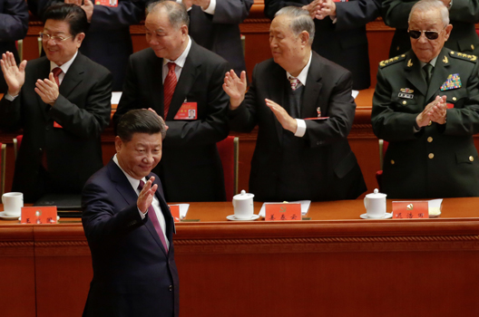 Xi Seeks to Solidify Grip on China