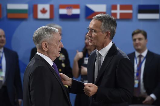 Mattis Briefs NATO Defense Ministers on Russia's Violation of the INF Treaty
