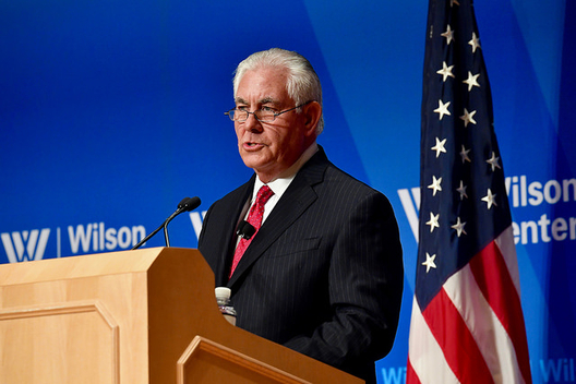 Secretary of State Rex Tillerson at the Wilson Center, Nov. 28, 2017.