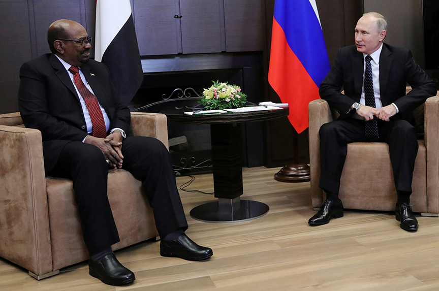 Why Does Vladimir Putin Care About Sudan?